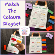 Match the Colours Playset - HarveysToyShed