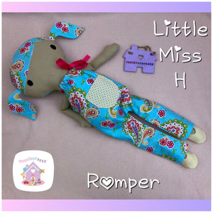 All in One Romper for Miss H - HarveysToyShed
