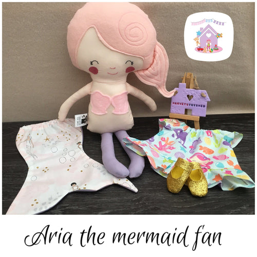 Aria The Mermaid Fan - HarveysToyShed