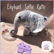 Elephant Softie Rattle