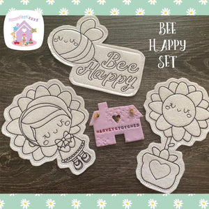 Bee Happy Colouring Set