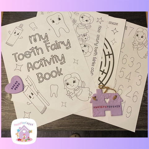 My Tooth Fairy Activity Book