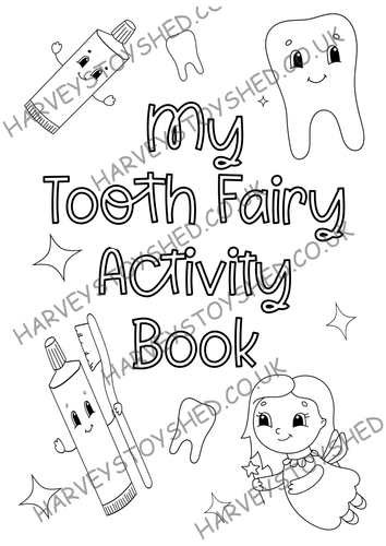 My Tooth Fairy Activity Book Download