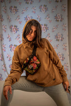 Load image into Gallery viewer, old-fashioned hoodie in vintage camel