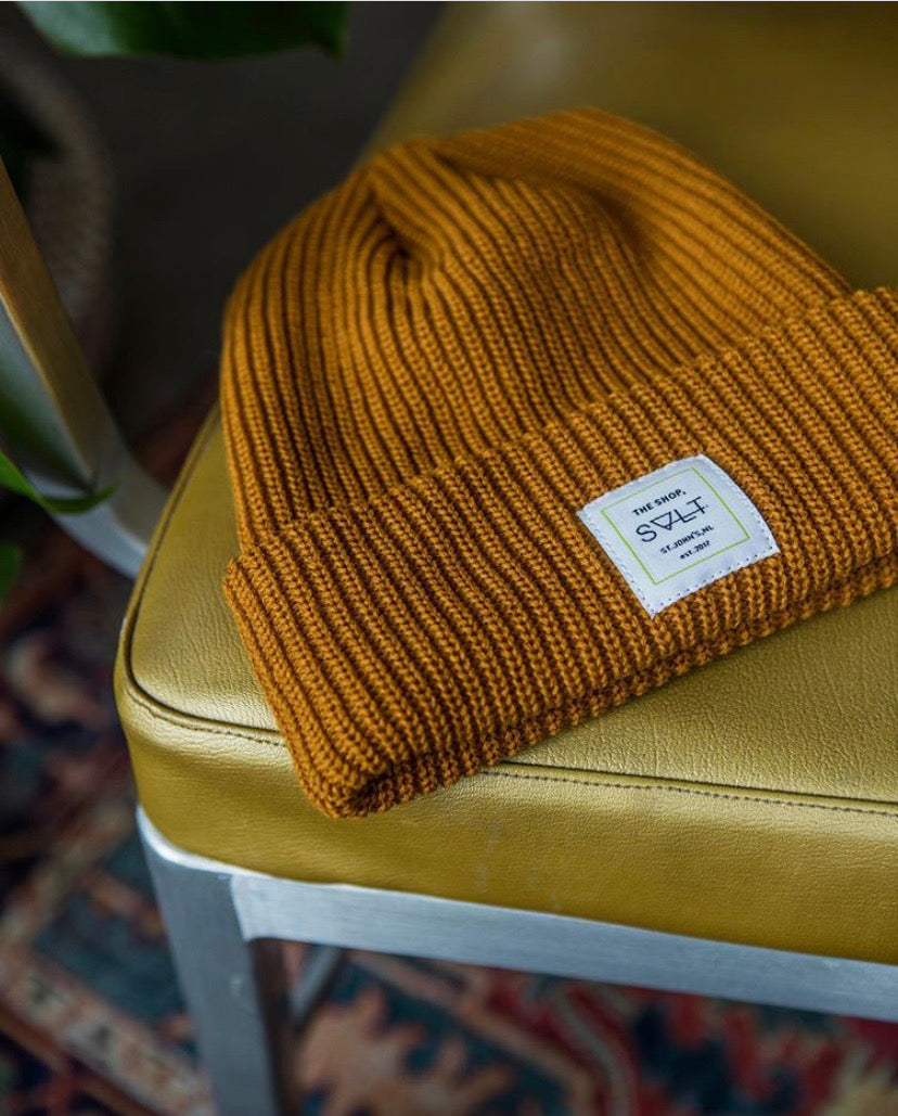 the shop toque in tan