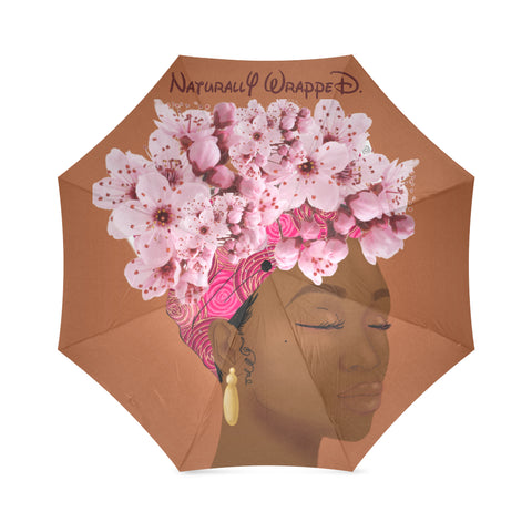 Wrapped, Naturally Pink Wrap Umbrella