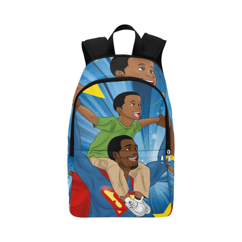 'My Super Dad' GOAT Backpack