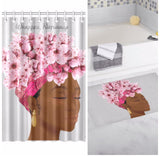 Wrapped, Naturally Shower Curtain + Rug (Bundle