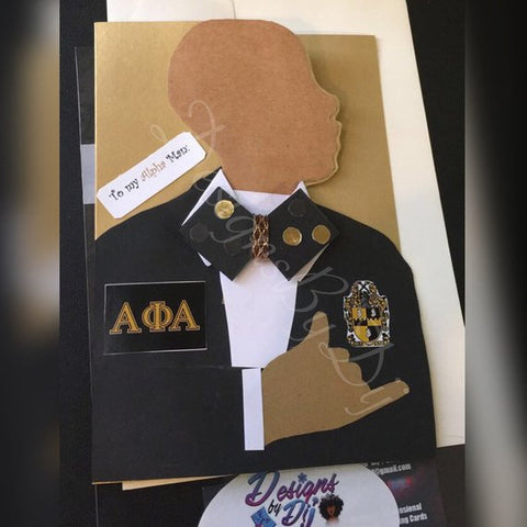 Alpha Man Card