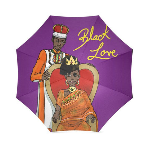 King & Queen 'Straight Out of Wakanda' Umbrella