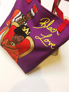 King + Queen (Black Love) Tote
