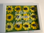 Sunflower Decor Floral Display Wall Decorations