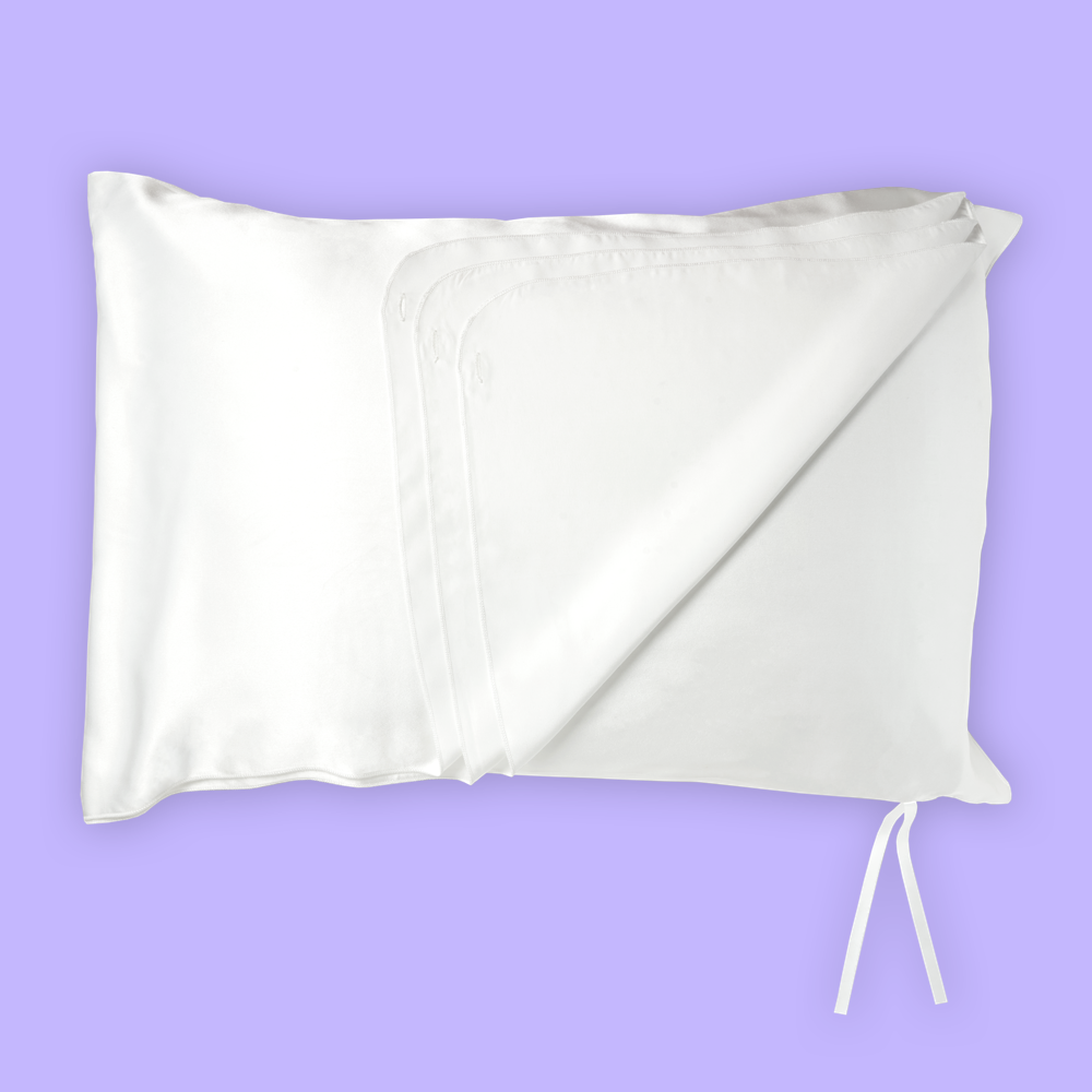 deja silk pillowcase for acne prone skin