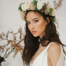 perth flower crown bridal headpiece silk flower crown perth hens night accessories perth flower crown sydney white flower crown racing headpiece fascinator perth spring racing headpiece australia