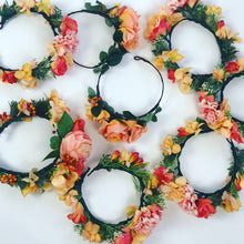 hens nights perth, hens night ideas perth, wedding flower crown, flower crown perth, silk flower crown perth, cheap flower crown