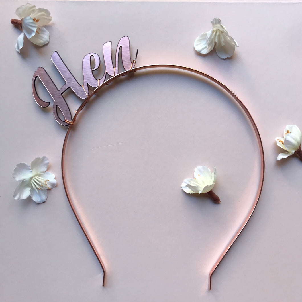 modern hens night accessories australia, bride headband, classy hens night accessories, hens night accessories perth, bachelorette accessories, classy hens night ideas, hens night accessories melbourne adelaide, rose gold hens night accessories