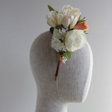 beautiful reversible floral headband perfect for melbourne cup or a hens party