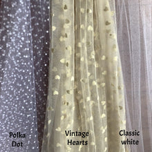 Detachable Tulle Veils