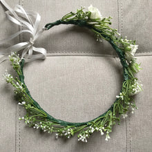dainty flower crown, silk flower crown perth, greenery flower crown, artificial flower crown australia, perth flower crown, melbourne flower crown, brisbane flower crown