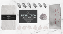 Attracting a Loving Partner Crystal Grid with rose quartz, clear quartz and sacred geometry