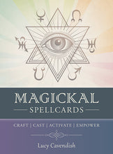 Magickal Spellcards Oracle Cards Lucy Cavendish