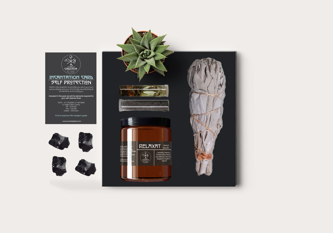 Home Cleanse & Protection Ritual Pack