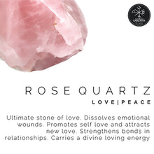 Amity: rose quartz crystal stone love peace ultimate love stone. Dissolves emotional wounds. Promotes self love and attracts new love. Strengthens bonds in relationships. Carries a divine loving energy.