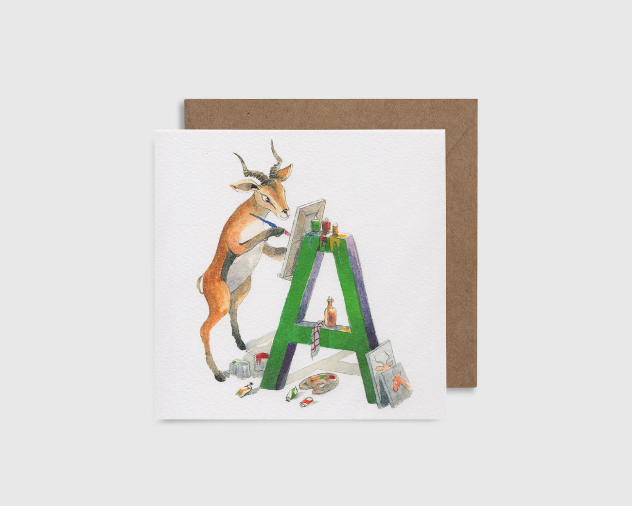 A is for Antelope - A comme Antilope