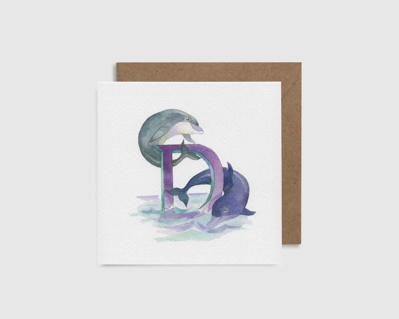 D is for Dolphin - D comme Dauphin