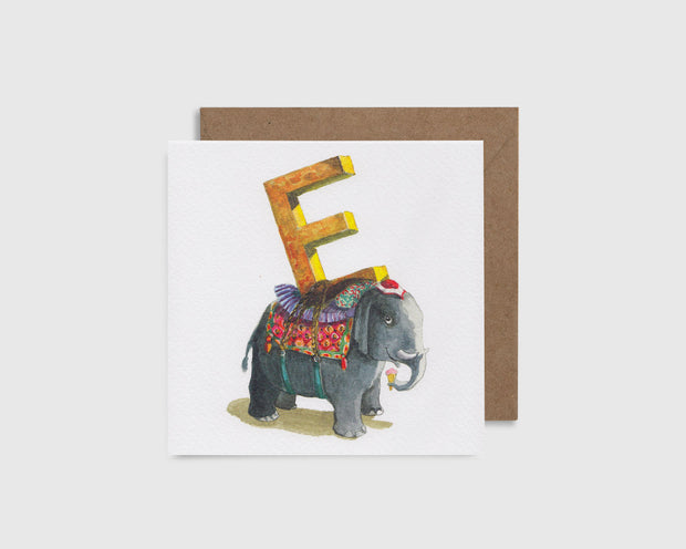 E is for Elephant - E comme l'Éléphant