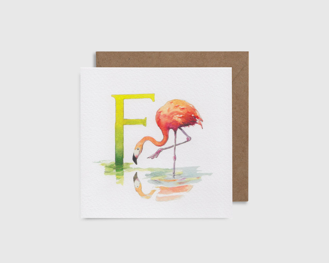 F is for Flamingo - F comme Flamant
