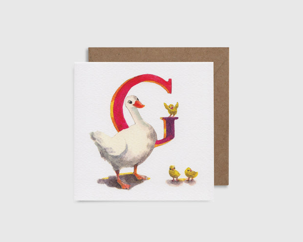 G is for Goose