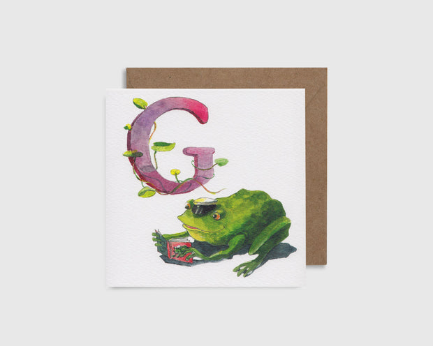 G comme Grenouille
