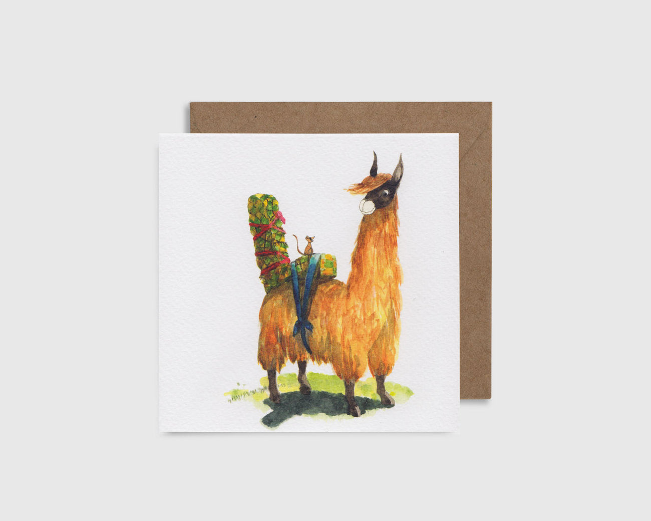 L is for Llama - L comme Lama