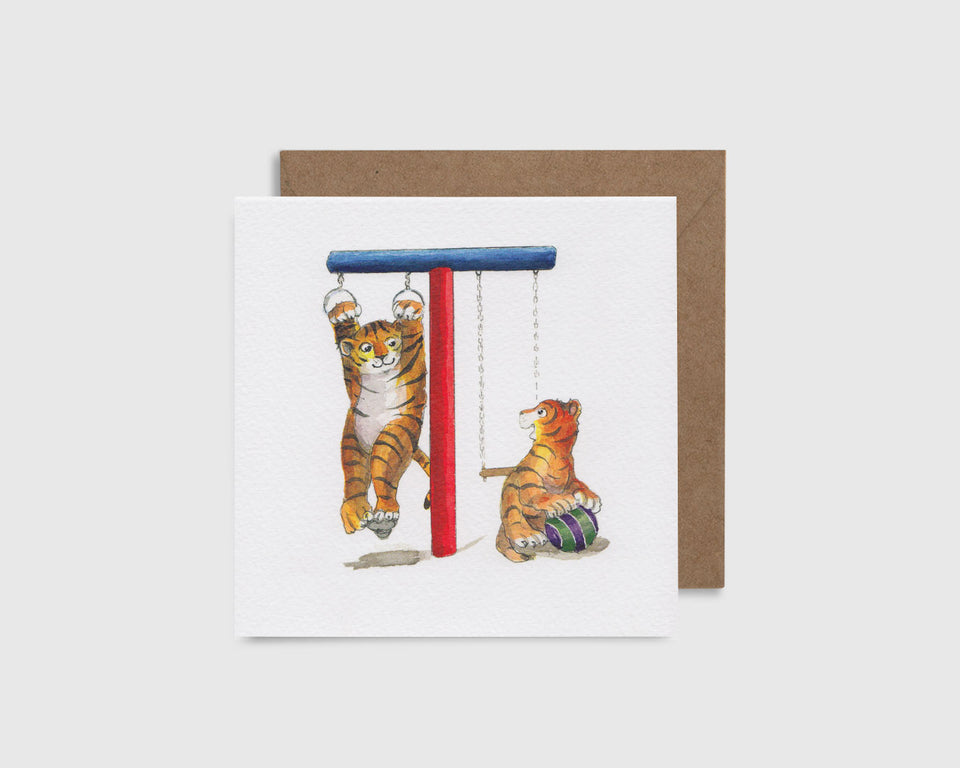 T is for Tiger - T comme Tigre