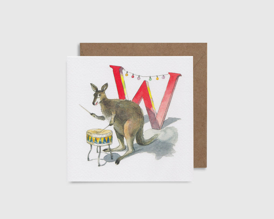 W is for Wallaby