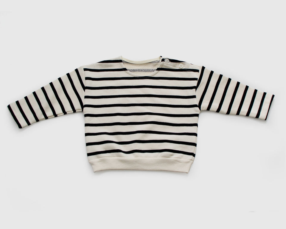 Happy Prince - Black Stripe Tee