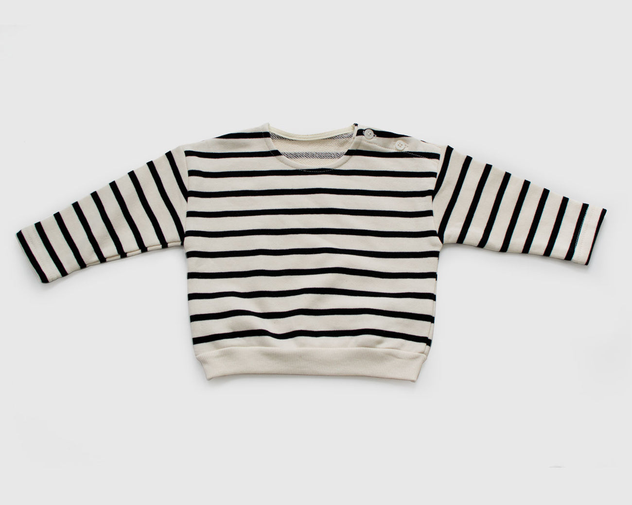 Black Stripe Tee
