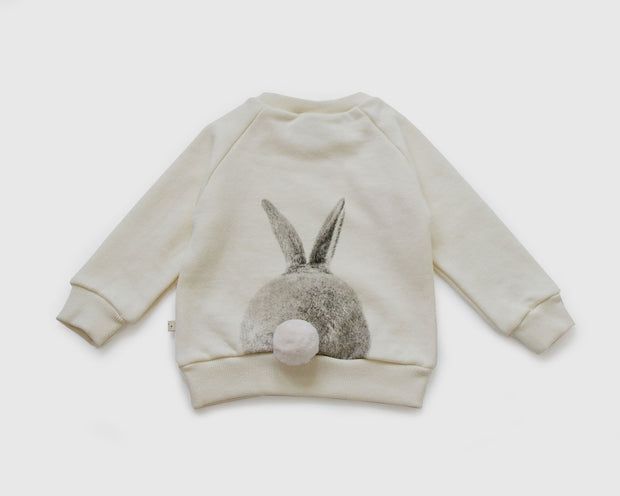 Lala - Rabbit Sweatshirt Ivory