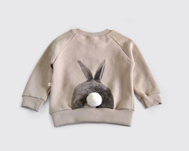 Lala - Rabbit Sweatshirt Beige