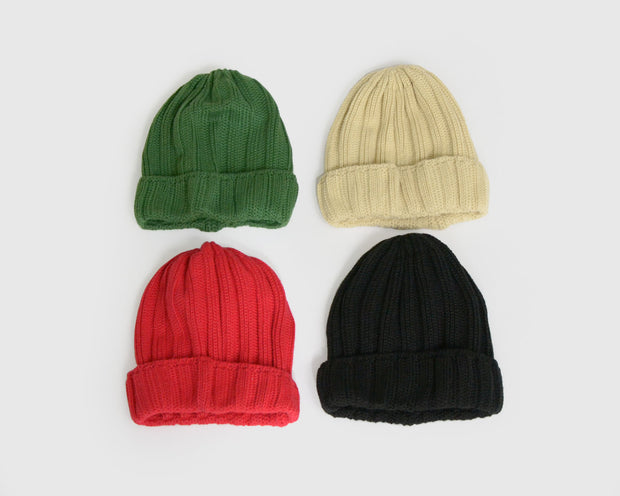 Paul & Nina - Ribbed Knit Beanie