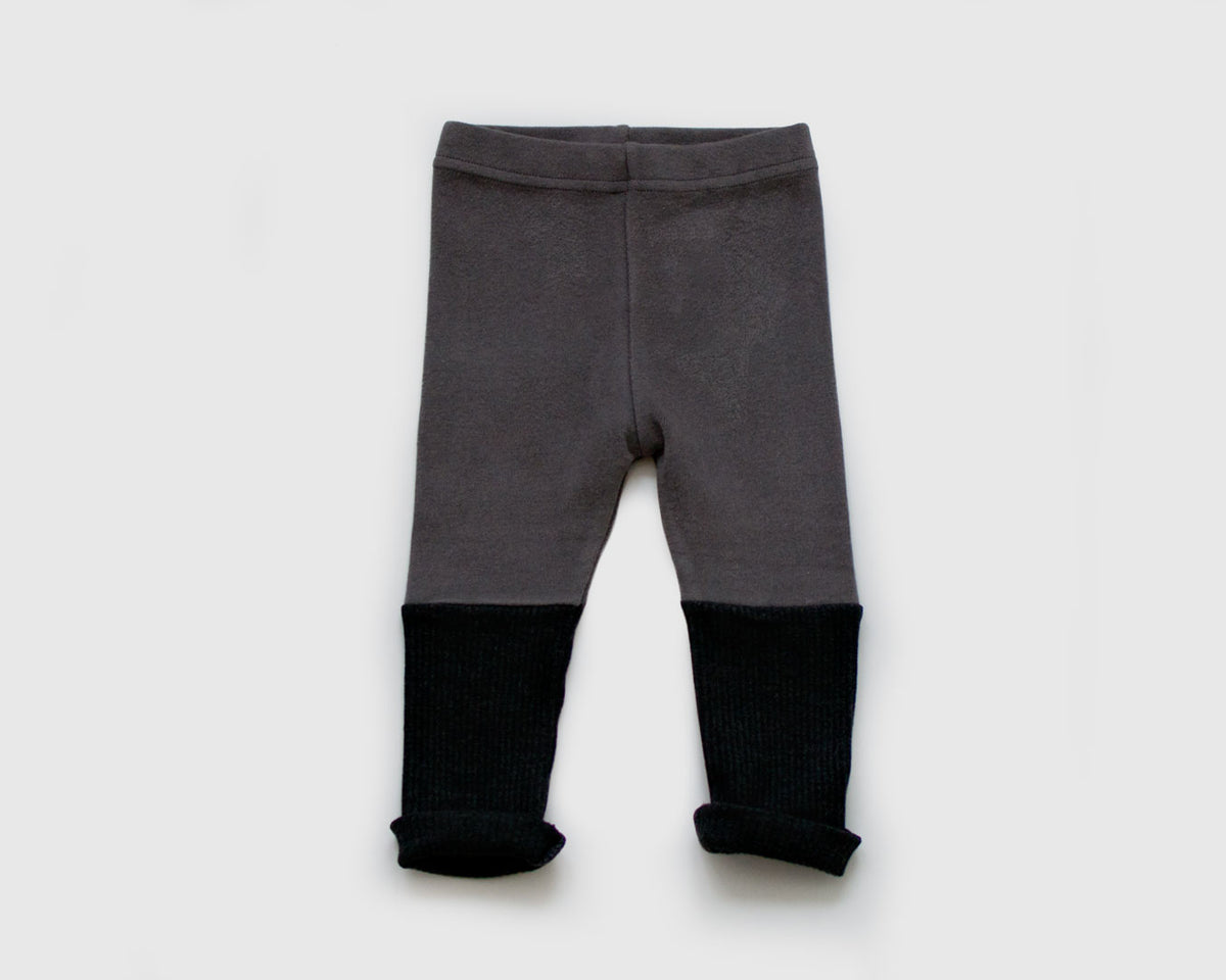 Two Tone Charcoal Legging