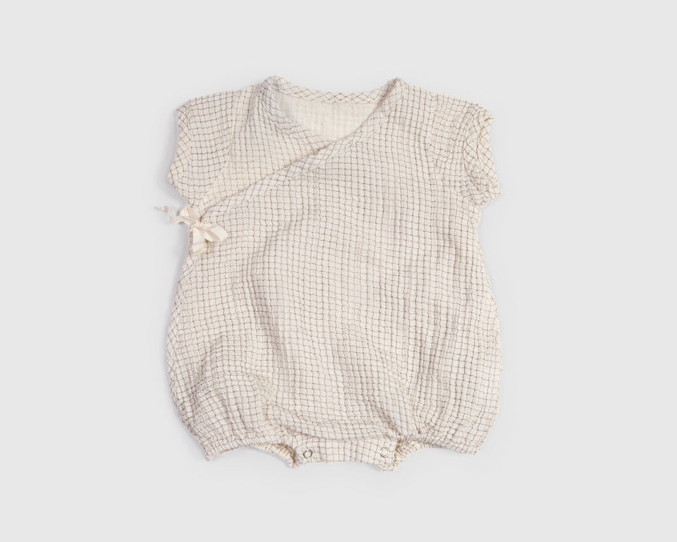 Bien a Bien - Checker Bubble Onesie