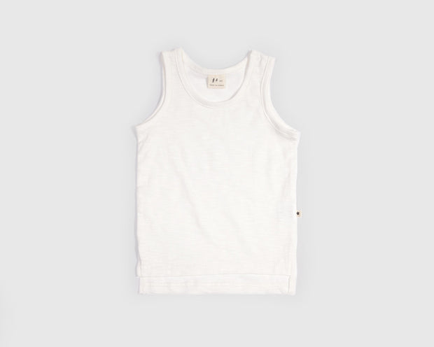 Lulu - White Tank Top