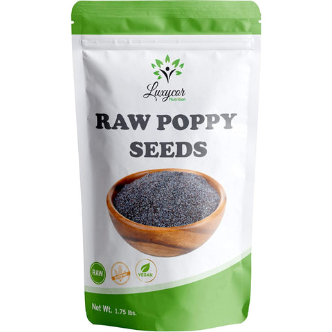 Luxycor Nutrition - Raw Poppy Seeds