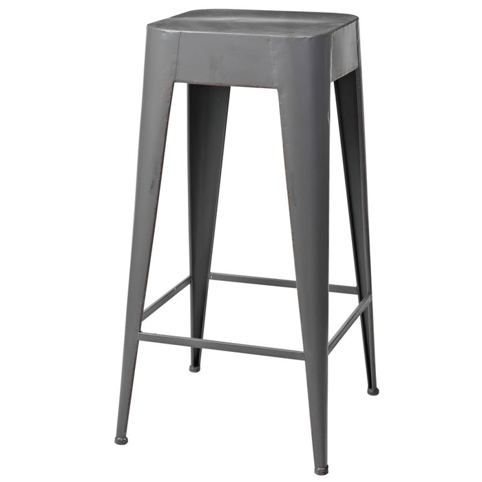 'DARYLL' TALL METAL stool