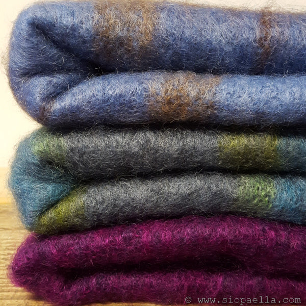 Cushendale Brushed Mohair Knee Throw