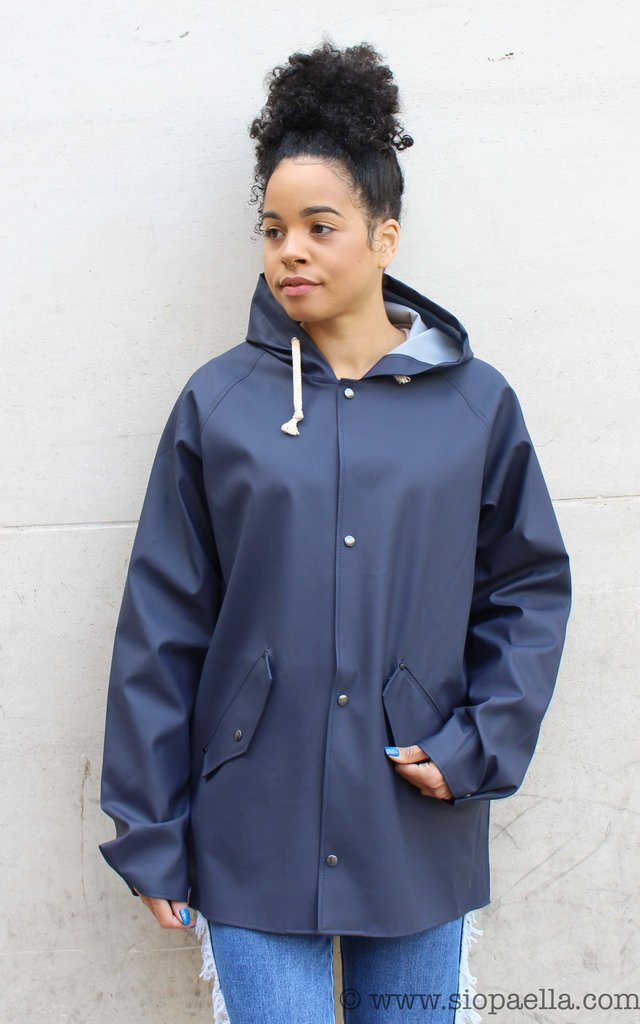 Elka Thorsminde Navy Rain Jacket