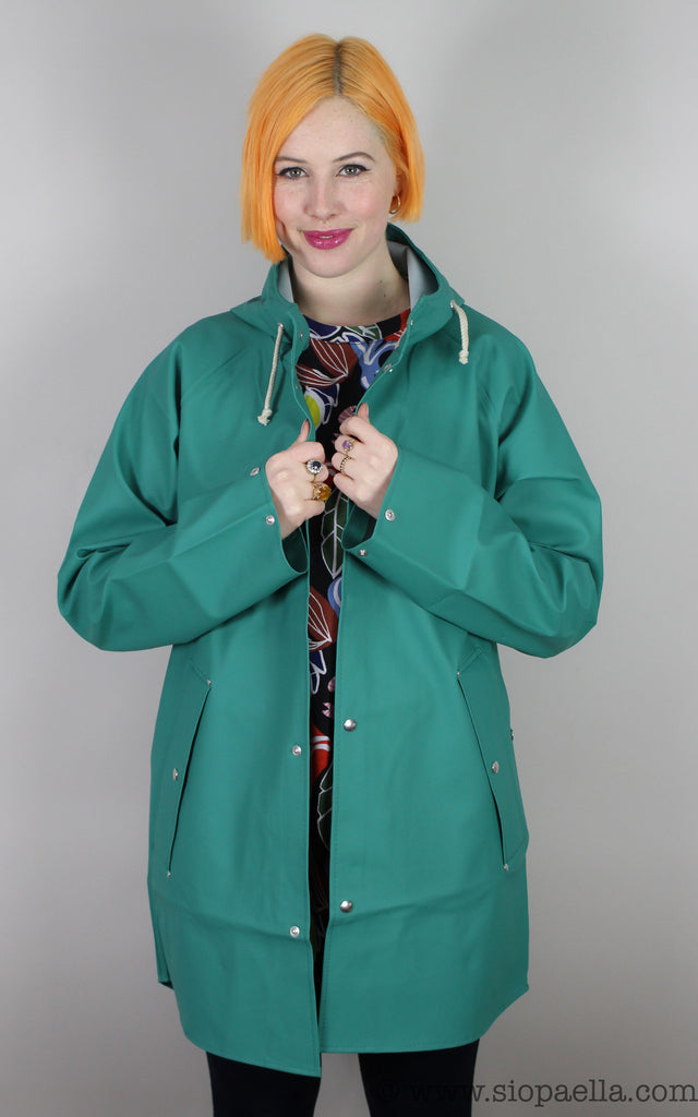 Elka Sønderby Green Woods Rain Jacket