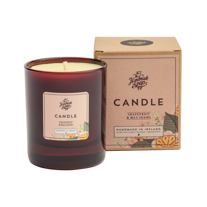 Grapefruit & May Chang Soy Wax Candle